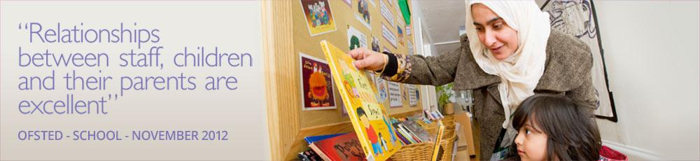 Midland Road Nursery School & lead for Lister Park Children's Centre Cluster Banner